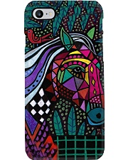 horse abstract Phone Case i-phone-8-case