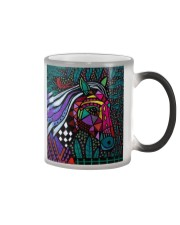 horse abstract Color Changing Mug tile
