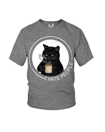black cat coffee hate people