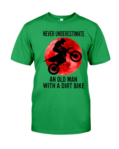 Never Underestimate An Old Man With A Dirt Bike