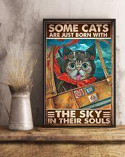 cats pilot born sky soul pt phq ngt 11x17 Poster lifestyle-poster-3
