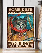 cats pilot born sky soul pt phq ngt 11x17 Poster lifestyle-poster-4