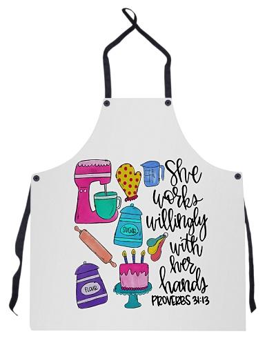baker her hands
