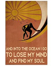 surfing find my soul 11x17 Poster front