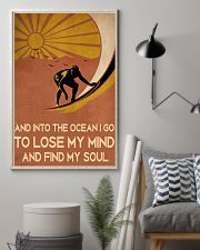 surfing find my soul 11x17 Poster lifestyle-poster-1