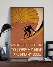 surfing find my soul 11x17 Poster lifestyle-poster-2
