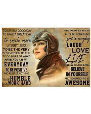 today good day pilot pt phq pml 17x11 Poster front