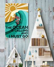 surfing the ocean is calling poster 11x17 Poster lifestyle-holiday-poster-2