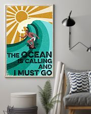 surfing the ocean is calling poster 11x17 Poster lifestyle-poster-1