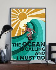 surfing the ocean is calling poster 11x17 Poster lifestyle-poster-2