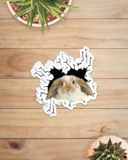 rabbit crack sticker Sticker - 6 pack (Horizontal) aos-sticker-6-pack-horizontal-lifestyle-front-07