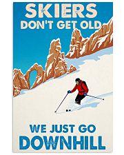 skiing dont get old mas 11x17 Poster thumbnail