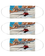 skiing dont get old mas Cloth Face Mask - 3 Pack front