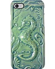sea horse ceramic tile pc phq nna Phone Case i-phone-8-case