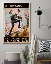 hiking into forest lose mind find soul pt phq ngt 11x17 Poster lifestyle-poster-1