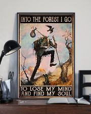hiking into forest lose mind find soul pt phq ngt 11x17 Poster lifestyle-poster-2