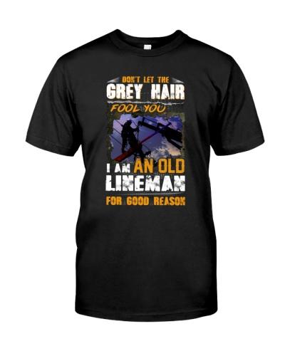 lineman grey hair fool