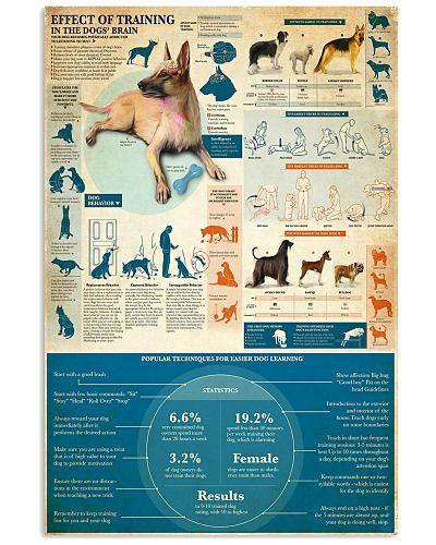 effect of dog training