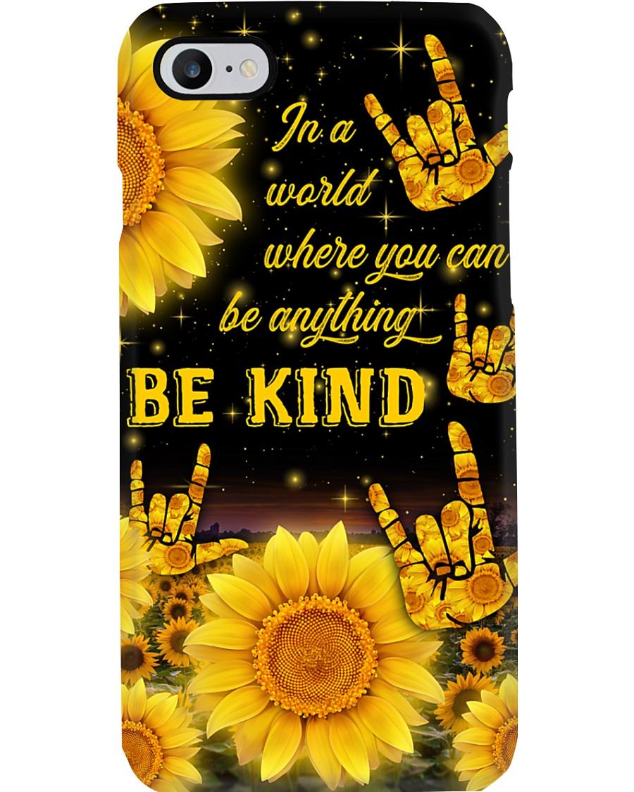 sign-language-sunflower-case-1 Phone Case