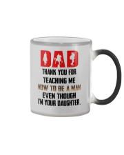 horse daughter to dad mug lqt NTH Color Changing Mug tile