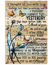 Butterfly I Thought Of You  11x17 Poster front