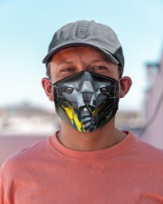 fighter pilot mas Cloth Face Mask - 3 Pack aos-face-mask-lifestyle-06