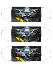 fighter pilot mas Cloth Face Mask - 3 Pack front
