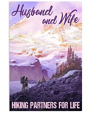 Mount Rainier hiking partners for life 11x17 Poster front