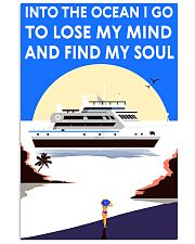 sailing find my soul 11x17 Poster front