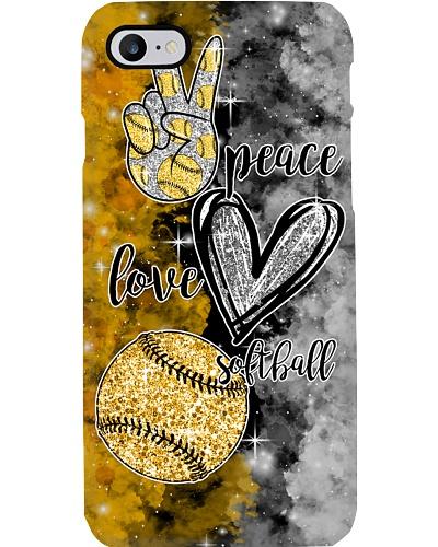 softball peace love