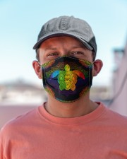 lgbt turtle mas Cloth Face Mask - 3 Pack aos-face-mask-lifestyle-06