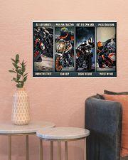 Motorbike rider god Duk KT as i lay dvhh ngt 24x16 Poster poster-landscape-24x16-lifestyle-22