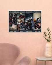 Motorbike rider god Duk KT as i lay dvhh ngt 24x16 Poster poster-landscape-24x16-lifestyle-23
