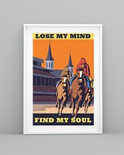 horse racing find my soul 16x24 Poster lifestyle-poster-5