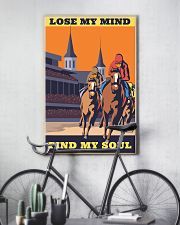 horse racing find my soul 16x24 Poster lifestyle-poster-7