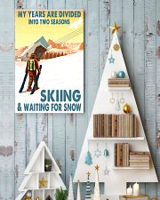skiing 2 seasons 11x17 Poster lifestyle-holiday-poster-2