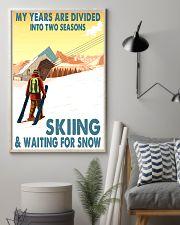 skiing 2 seasons 11x17 Poster lifestyle-poster-1