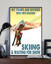 skiing 2 seasons 11x17 Poster lifestyle-poster-2