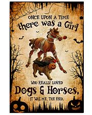loved dogs and horses 16x24 Poster front