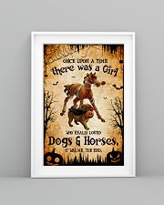 loved dogs and horses 16x24 Poster lifestyle-poster-5
