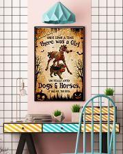 loved dogs and horses 16x24 Poster lifestyle-poster-6