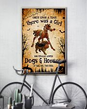 loved dogs and horses 16x24 Poster lifestyle-poster-7