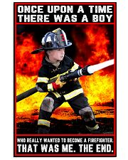 Firefighter boy once upon a time poster 11x17 Poster front