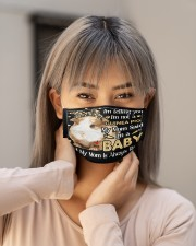 guinea pig mom right mas Cloth Face Mask - 3 Pack aos-face-mask-lifestyle-18