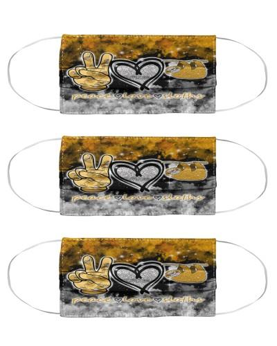 Peace love sloth mas