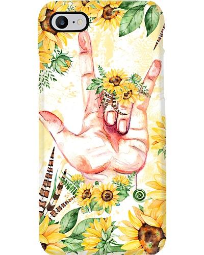 sign-languate-sunflower-case