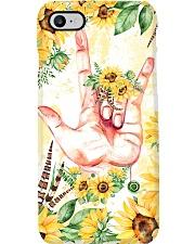 sign-languate-sunflower-case Phone Case i-phone-7-case