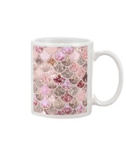 Mermaid Fin pink Mug tile