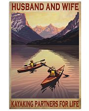 kayaking partners for life poster 16x24 Poster front