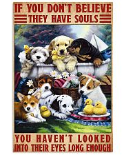 dog souls eyes poster 24x36 Poster front